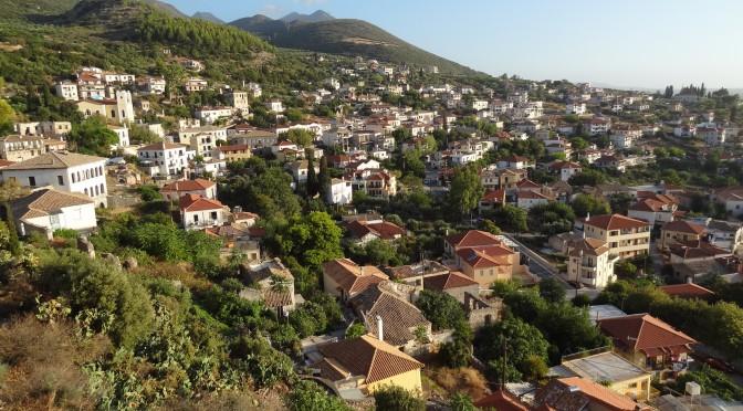 Blick über Kyparissia